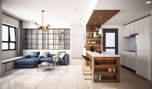 Thiết kế nội thất đang là nhu cầu phổ biến đối với các công trình hiện nay.