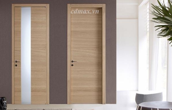 Cửa gỗ công nghiệp thích hợp trong không gian văn phòng