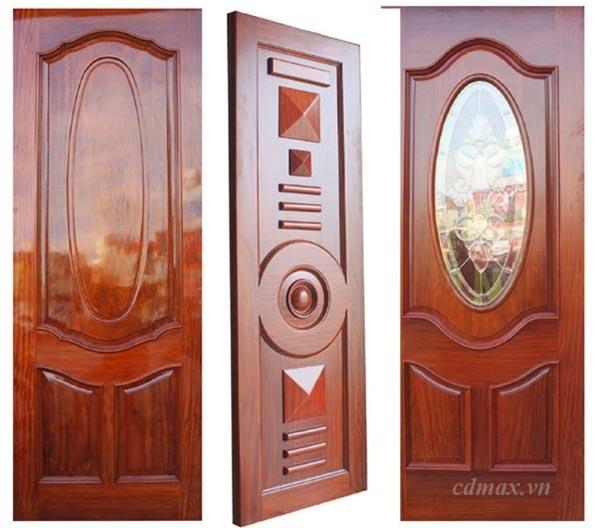Thiết kế cửa gỗ tự nhiên đẹp mắt